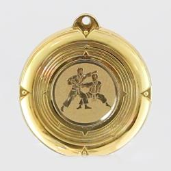 Deluxe Karate Medal 50mm