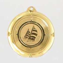 Deluxe Sailing Medal 50mm Gold
