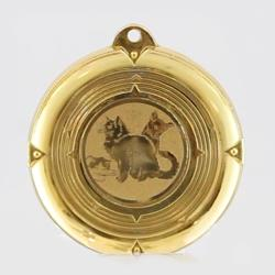 Deluxe Cat Medal 50mm
