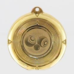 Deluxe Lawn Bowls Medal 50mm