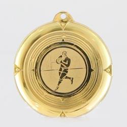 Deluxe Rugby Medal 50mm