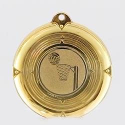 Deluxe Netball Medal 50mm