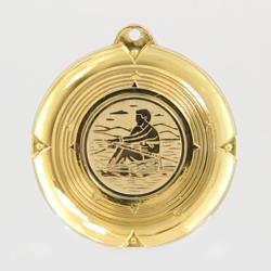 Deluxe Rowing Medal 50mm Gold