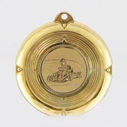 Deluxe Go Karting Medal 50mm