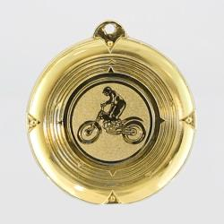 Deluxe Motorbike Medal 50mm