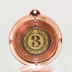 Deluxe 3rd Place Medal 50mm