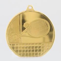 Glacier Tennis Medal 50mm Gold