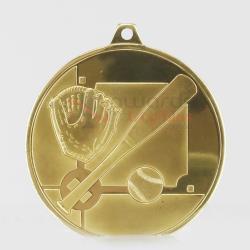 Glacier Baseball Medal 50mm Gold