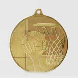 Glacier Series Basketball Medal 50mm