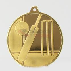 Glacier Series Cricket Medal 50mm