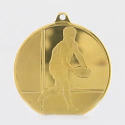 Glacier Rugby Medal 50mm Gold