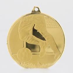 Glacier Series Soccer Medal 50mm