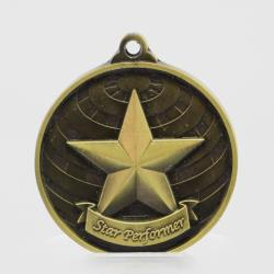 Global Star Performer Medal 50mm Gold