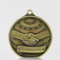 Global Sportsmanship Medal 50mm Gold