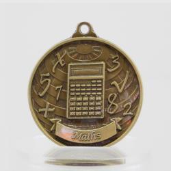Global Maths Medal 50mm Gold
