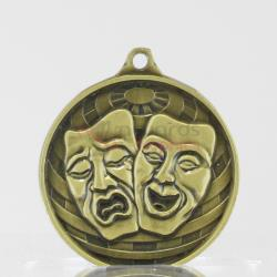 Global Drama Medal 50mm Gold