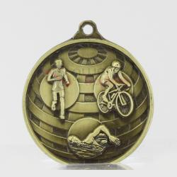 Global Triathlon Medal 50mm