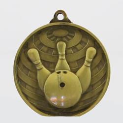 Global Tenpin Bowling Medal 50mm