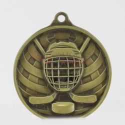 Global Ice Hockey Medal 50mm Gold