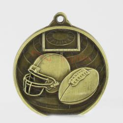 Global Gridiron Medal 50mm Gold