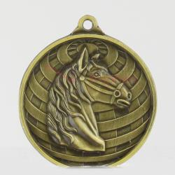 Global Equestrian Medal 50mm Gold