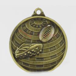Global AFL Medal 50mm Gold