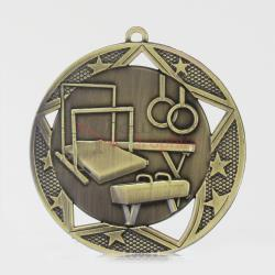 Stellar Gymnastics Medal 70mm