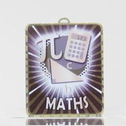 Lynx Medal Maths 75mm