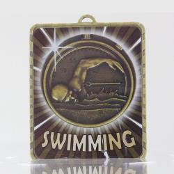 Lynx Medal Swimming 75mm