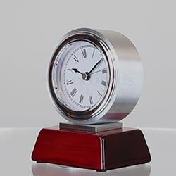 Atlas Chrome Clock 125mm
