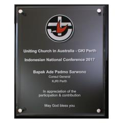 Optimum Plaque - 3 Sizes