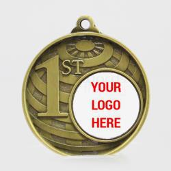Personalised Global 1st Place Medal 50mm