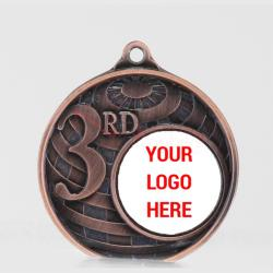 Personalised Global 3rd Place Medal 50mm