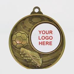 Global Soccer Logo Medal 50mm