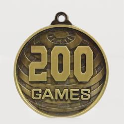 Global 200 Games Medal 50mm