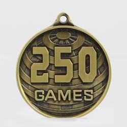 Global 250 Games Medal 50mm