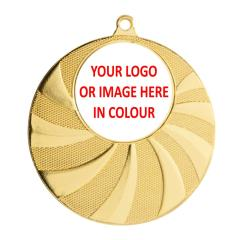 Fan Personalised Medal 50mm