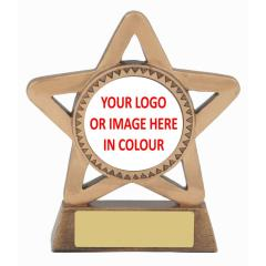 Personalised Achievement Star 110mm