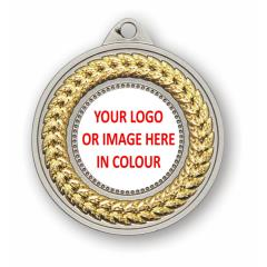 Braid Personalised Medal 50mm