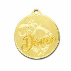 Twirl Dance Medal Gold 50mm