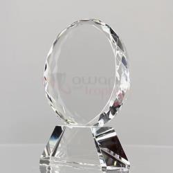 Starburst Circle - Rikaro Handmade Crystal 100mm