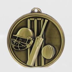 Triumph Cricket Medal 55mm Gold