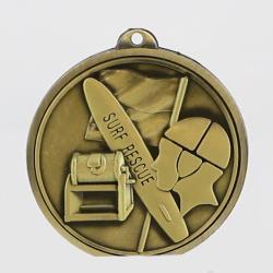 Triumph Surf Lifesaving Medal 55mm Gold