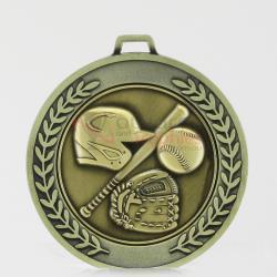 Heavyweight Baseball Medal 70mm
