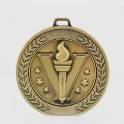 Heavyweight Victory Medal 70mm Gold