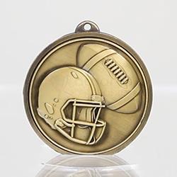 Triumph Gridiron Medal 50mm Gold