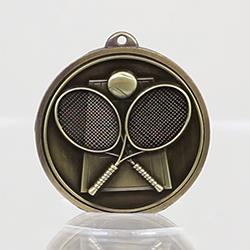 Triumph Tennis Medal 50mm Gold