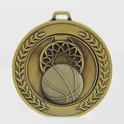 Heavyweight Basketball Medal 70mm