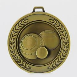 Heavyweight Lawn Bowls Medal 70mm
