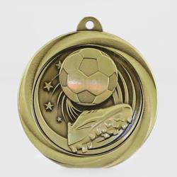 Econo Soccer Medal 50mm Gold